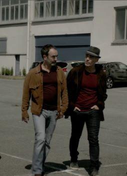 """Affiche Deux flics sur les docks - Saison 6 - épisodes 11 et 12 """"Réparations"""" et """"Amours mortes"""""""