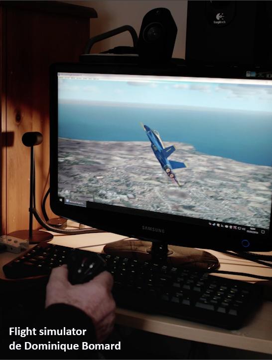 Affiche Flight simulator