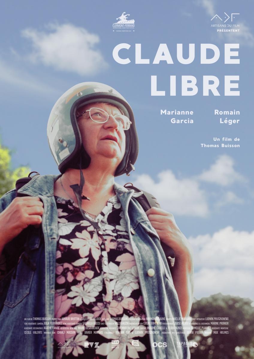 Affiche Claude libre