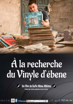 Affiche À la recherche du vinyle d'ébène