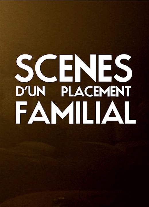 Affiche Scènes d'un placement familial