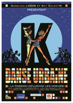 Affiche K. Danse Urbaine