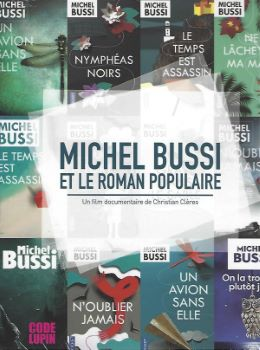 Affiche Michel Bussi et le Roman Populaire