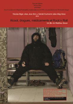 Affiche Alcool, drogues, médicaments et Rock'n Roll